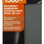 3M 1500 Grit Wet Sandpaper