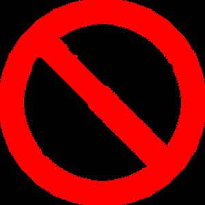 no drill icon