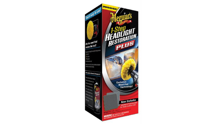 Meguiars G1900K Headlight and Clear Plastic Restoration Kit